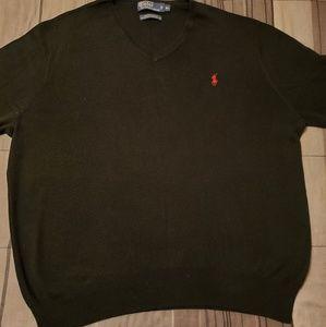 Polo Sweater- V Neck